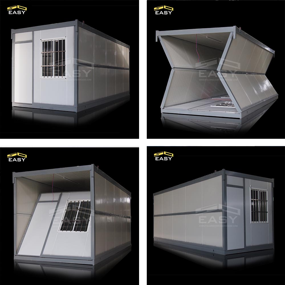 Folding container home